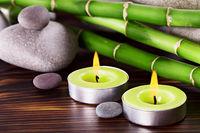 Spa Stones bamboo