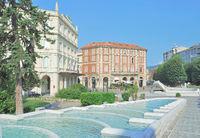 Health Resort of Acqui Terme in Piedmont,Italy