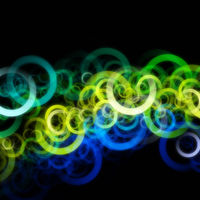 Abstract eco circle background design with space for your text
