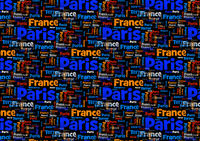 Terror France Paris Blue