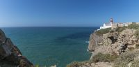 Panoramic picture of the Cabo de Sao Vicente