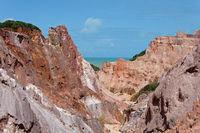 Canyon at Praia Coqueirinho