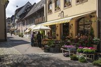 Flower shop in old town of Staufen