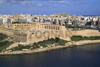 Fort Manoel  in Valletta, Malta