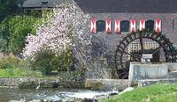 Watermill of Brueggen,Rhineland,Germany
