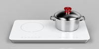 Preparing food on induction cooktop