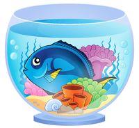 Aquarium topic image 5 - picture illustration.