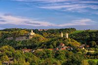 Rudelsburg und Saaleck - Rudelsburg and Saaleck castle 01