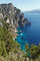 View from Monte Tuore at Capri