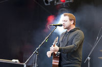 South African rock band Prime Circle live on the Kiel Week 2016