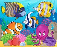 Coral fauna theme image 7 - picture illustration.