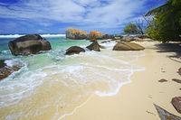 Carana Beach,  Insel Mahe, Seychellen