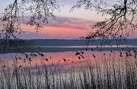 Lake Faehrsee near Templin,Uckermark region,Brandenburg,Germany