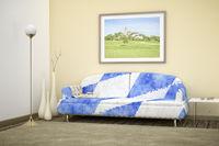 Bavarian colors sofa