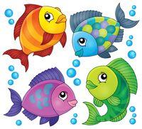 Fish topic image 2 - picture illustration.