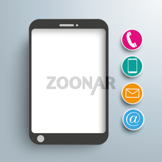 Smartphone Contact Icons