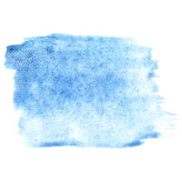 Pale blue watercolor stroke
