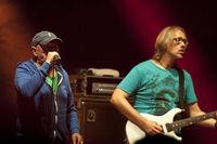 Kiel, Germany, June 17, 2016: German rock band Torfrock  live on the Kiel Week 2016