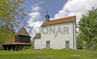 Lorettokapelle Maria-Hilf mit Bethalle auf der Lorettohöhe Konstanz-Allmannsdorf