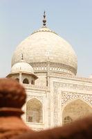 Dome of Taj Mahal