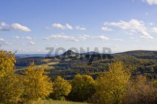Herbstbeginn im Hegau