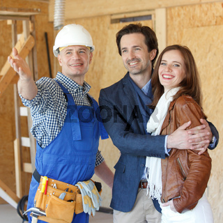 foreman shows new house
