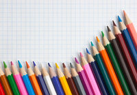 colored pencils