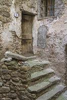 Steiler Hausaufgang