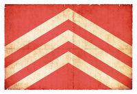 Grunge flag of Glamorgan (Wales)