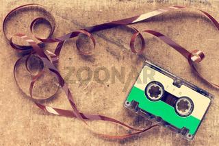 Vintage compact cassette