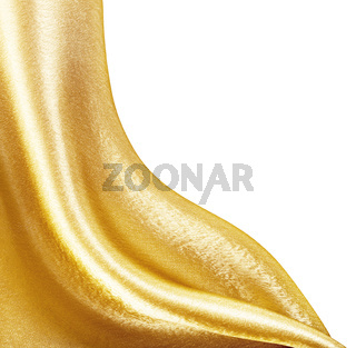 Golden Fabric silk