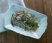 fried pickled herring