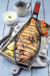 Barbecue Rose Fish