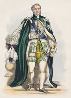 Prince Augustus Frederick, 1773-1843, as a Knight of the Order of the Thistle
