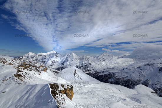 View from Edelweisspitze, High Tauern National Par