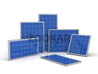 Photovoltaik Solarzellen Set 1