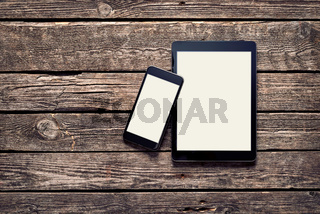 Black Apple devices - Iphone 6 plus and Ipad Air