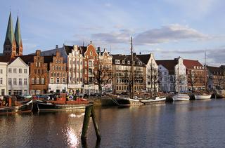 abendliches Lübeck-I-