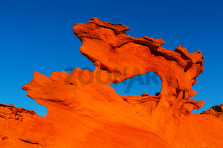 Sandstone formations