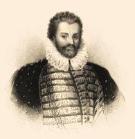 Sir Christopher Hatton, 1540-1591, an English politician