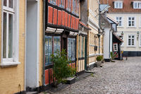 A street in the Danish town of Ärösköbing