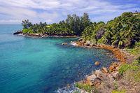 Landspitze des North East Point  Insel Mahe, Seychellen