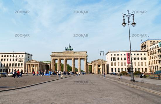 Brandenburg Gate and Pariser Platz in Berlin