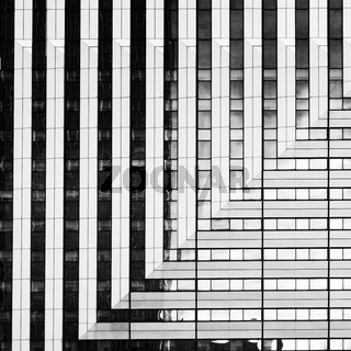Abstrakte Aufnahme von Architektur als Hintergrund nutzbar