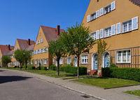 Wittenberg Siedlung Piesteritz - Wittenberg, garden city Piesteritz