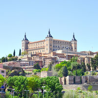 Alcazar fortress in Toledo
