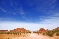 landscape at Damaraland, Namibia