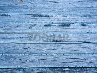 Blaue Holzbretter als Hintergrund