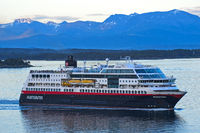 Cruise liner MS Midnatsol, near Molde Norway