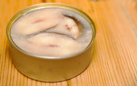 eel in jelly in a tin